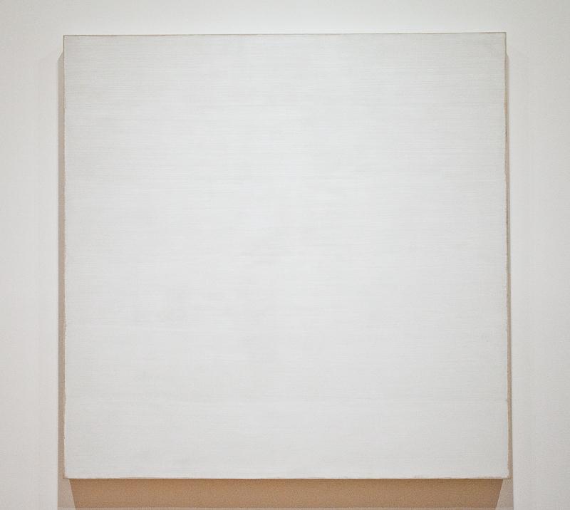 Robert ryman minimalist work minimalism pinterest for White canvas to paint
