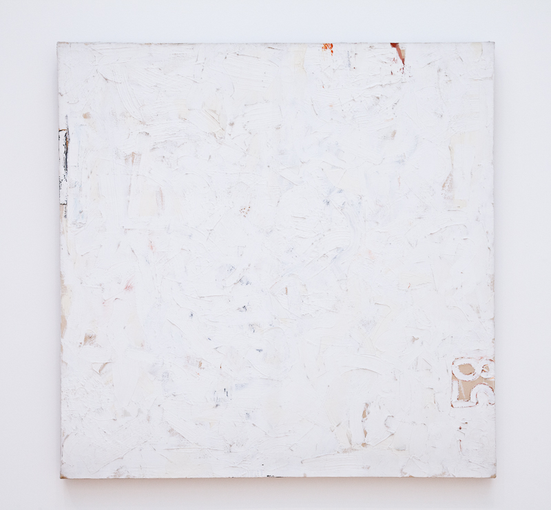 Robert Ryman - Untitled (1958)