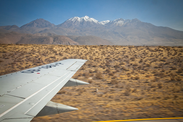 Arequipa-Landing at airport – ©Deidre Adams
