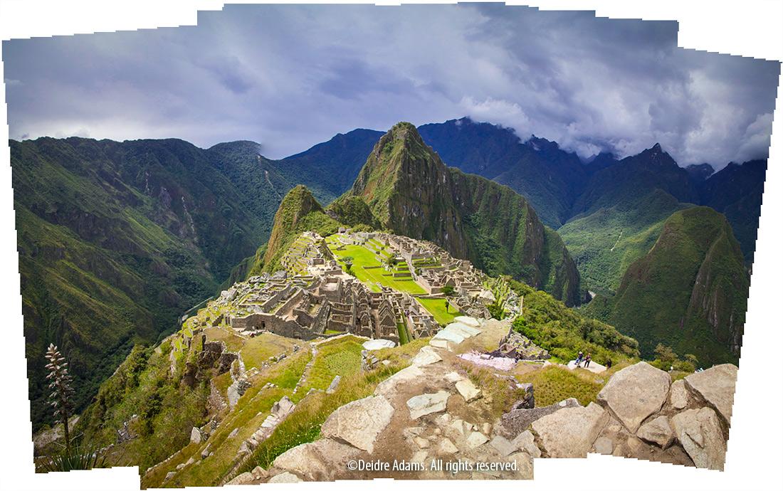 Machu Picchu Collage –©Deidre Admas