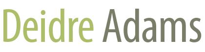 Deidre Adams – Artist Retina Logo